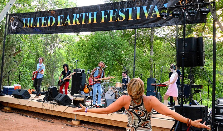 For the second year in the row the Tilted Earth Festival returns to the banks of Oak Creek at the Page Springs Cellars. The fifth annual Tilted Earth Festival is Friday, June 22, and Saturday, June 23. The Schuerman Dinner is Friday and the music festival is Saturday. Music starts at 6 p.m.