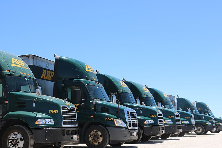 ABF Freight System is currently located at 3980 E. Highway 66 in Kingman, and has been for 38 years. However, ABF will be relocating to another Mohave County location. (Travis Rains)