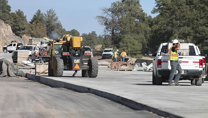 Construction projects continue on I-40 between Williams and Flagstaff