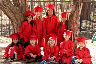 KLC Class of 2018. Many of the kids will be attending kindergarten at Grand Canyon School next year. (Photo/Michelle Pahl)