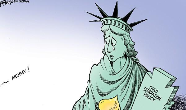 Editorial Cartoon: June 20, 2018