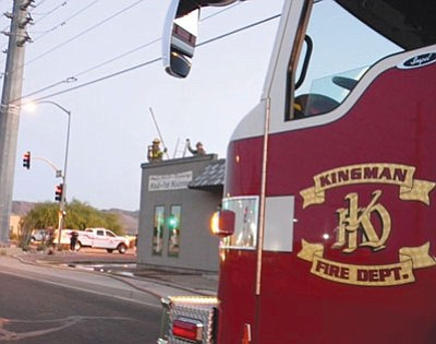 Kingman Fire Department engine. (Daily Miner file photo)