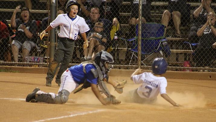 Kingman South 9-11 All Stars slide past Lake Havasu in District 9 Tournament