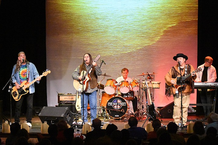 Five Way Street, featuring Mike Serres on guitar and vocals, Fred Coy on bass and vocals, Mark Gallegos on drums and percussion and Joe Murphy on guitar and vocals. (Mike Serres/Courtesy)