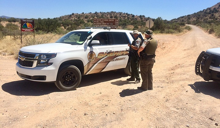 The Yavapai County Sheriff's Office has closed off Forest Road 119 in the Beaver Creek area as law enforcement officers are currently searching for a suspect in a Prescott area homicide. VVN/Vyto Starinskas