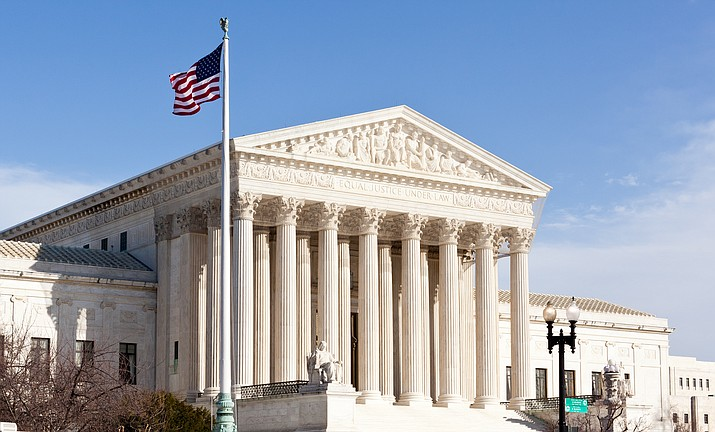 The Supreme Court of the United States ruled that states can force people to pay sales tax when they make online purchases. (Adobe Images)
