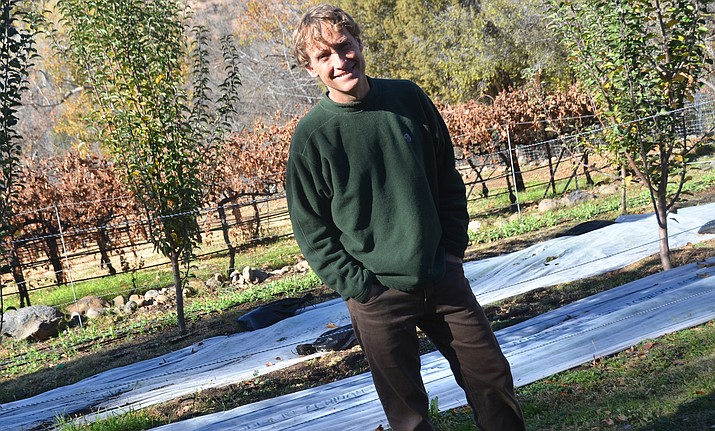 Eric Glomski is owner and director of winegrowing, Page Springs Cellars.