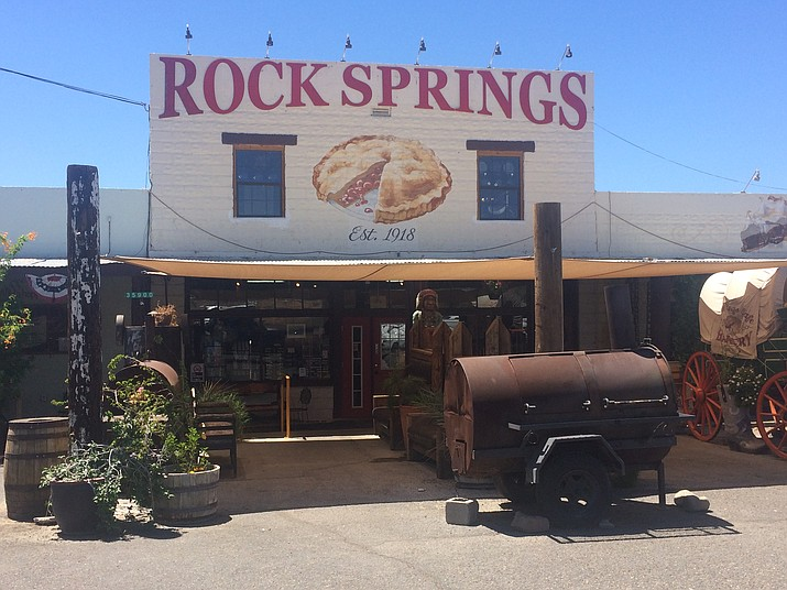 The Rock Springs Café, on the south side of Black Canyon City, is a don't-miss experience. (Tim Wiederaenders/Courier)