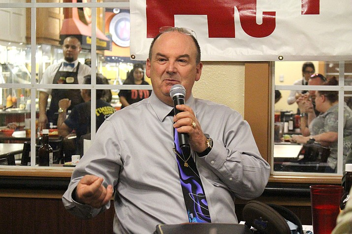 Mohave County Manager Mike Hendrix (Daily Miner file photo)