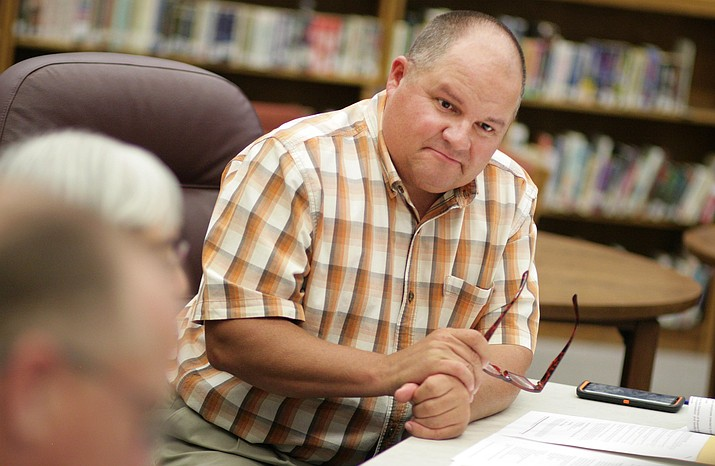Tuesday, the Camp Verde School Board approved a three-year contract extension with Danny Howe as the district's middle school principal. Howe is also the district's administrator-in-charge through the 2018-2019 school year. VVN/Bill Helm