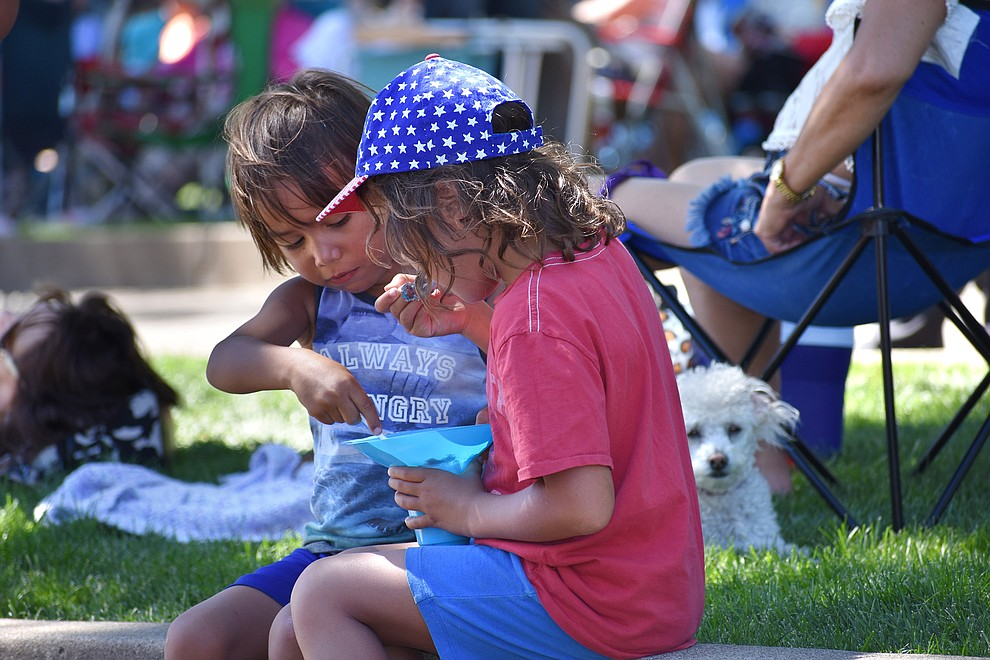 37th annual Prescott Bluegrass Festival held in the Courthouse Plaza, June 23, 2018. (Richard Haddad/WNI)