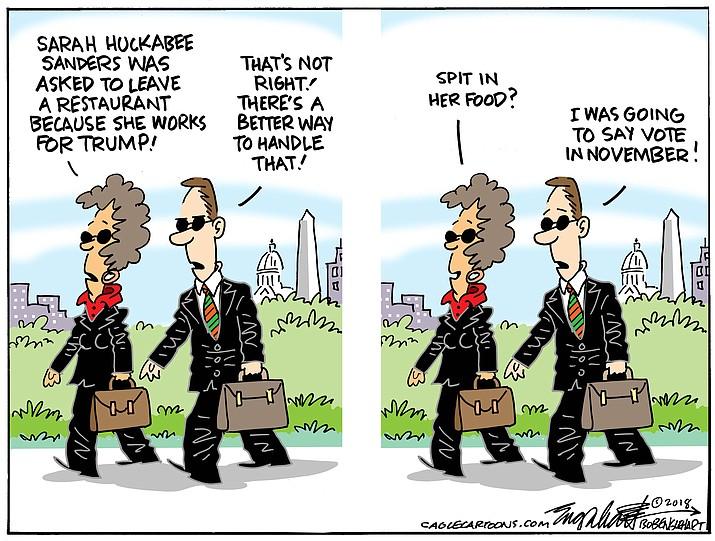 Editorial Cartoon (2): June 27, 2018