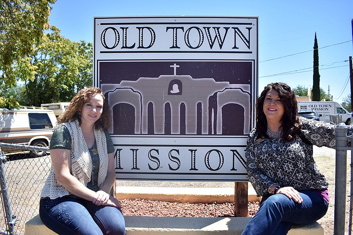 Old Town Mission General Manager Jill Sweet (right) and Executive Director Kellie Wilson. VVN/Halie Chavez