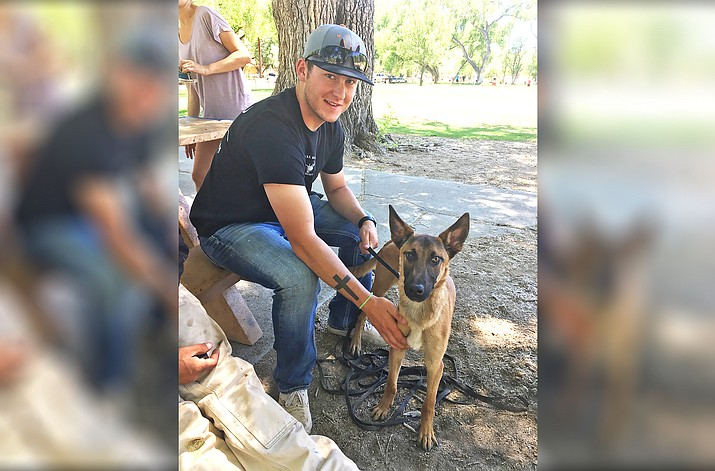Williams Police Officer Tyler Forbes has acquired a K-9 partner following local fundraising efforts to raise money for a dog, training and a specialized vehicle.