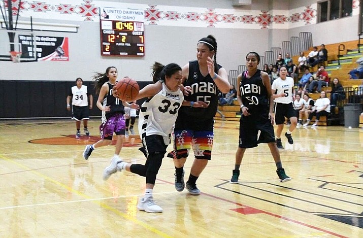 In high school, Nakai would form a team for NABI, the biggest Native American basketball tournament in Arizona. (Photo courtesy of Jessica Spencer-Nakai)