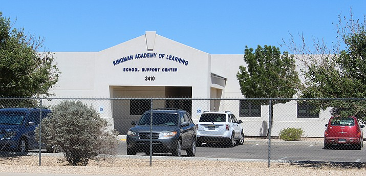Kingman Academy of Learning is undergoing some improvements to it's middle school and has approved it's budget for the year. (Photo by Vanessa Espinoza/Daily Miner)