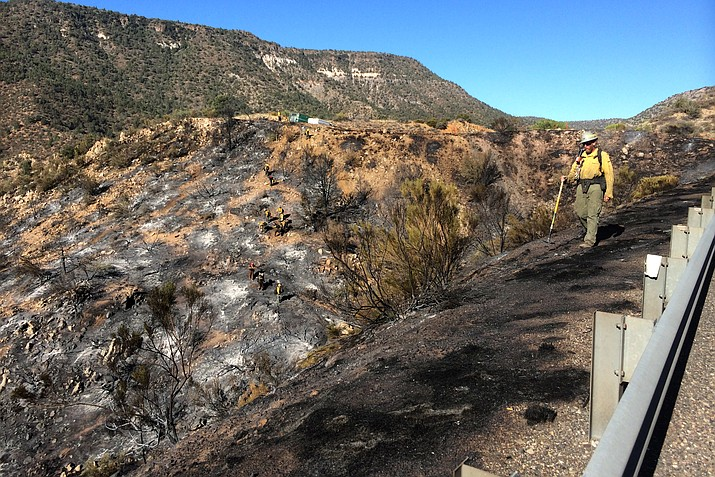 "The 106-acre fire that forced the temporary closure of I-17 between SR 260 and SR 169 is 25-percent contained, the US Forest Service said Wednesday in a press release. What started Tuesday afternoon as two small brush fires just south of Camp Verde ""should be 100-percent contained by late-Wednesday afternoon,"" said Debbie Maneely, Public Affairs officer for the Prescott National Forest."