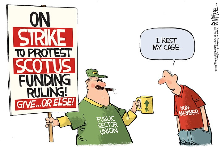 Editorial cartoon (1): June 29, 2018