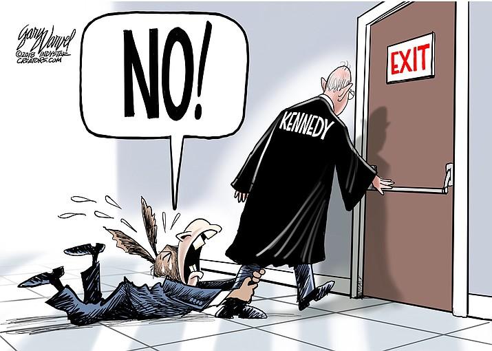 Editorial cartoon (2): June 29, 2018