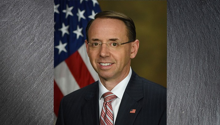 Deputy Attorney General Rod Rosenstein (Daily Miner file photo)