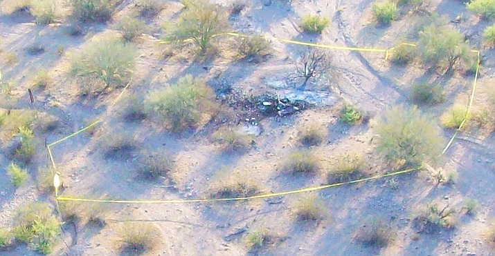 A Robinson R66 helicopter from Prescott crashed near Wikieup, Arizona on June 23, 2016. David Cormey, 55, of Prescott Valley, Arizona, and Timothy Shawn Brown, 52, of Glendale, were killed in the crash. An NTSB investigation concluded the helicopter experienced sudden high winds and turbulence from several large dust devils and the R66 broke up in flight.