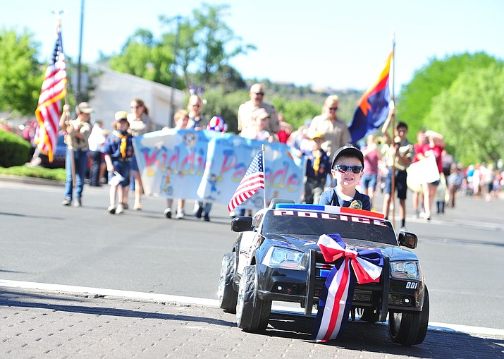 The 77th annual Kiwanis Kiddie Parade rolled through downtown Prescott Friday, June 29, 2018. (Les Stukenberg/Courier)