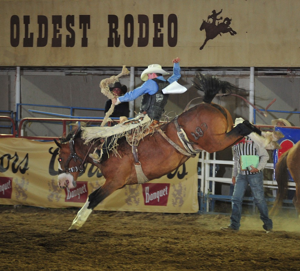 Steer Wrestlers Bareback Riders Treat Sellout Crowd On