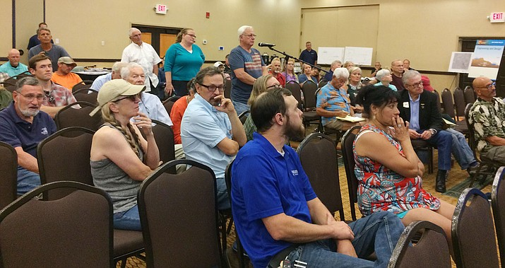 People With Questions And Comments On The Proposed ITC Big Chino Valley  Pumped Storage Project Line