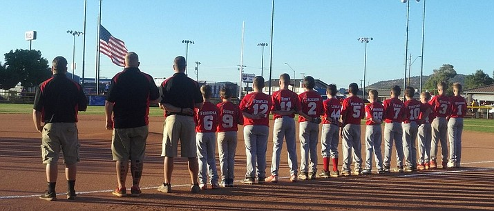 The Prescott Valley Little League Majors All-Starts. (Courtesy)