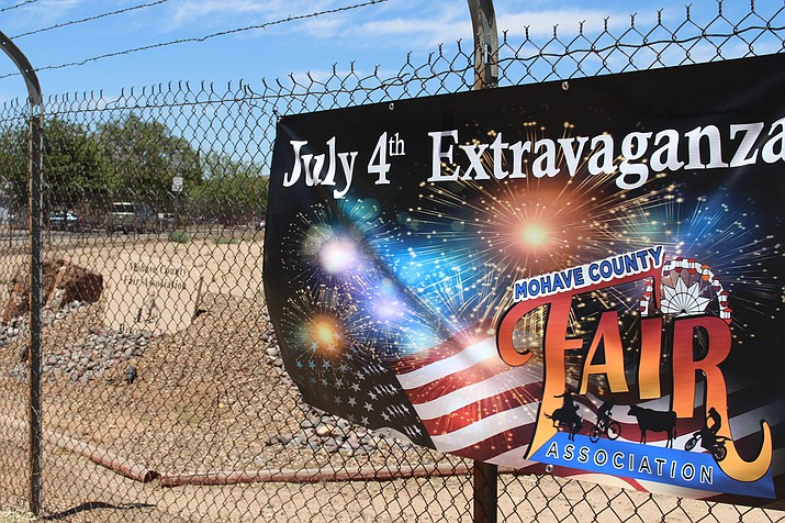 Fourth of July Extravaganza happening at the Mohave County Fairgrounds. (Photo by Hubble Ray Smith/Daily Miner)