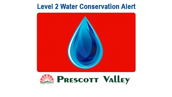 The Town of Prescott Valley has issued a Level 2 Water Conservation Alert due to a combination of major mechanical failures and record water usage due to hot and dry weather conditions. A level 2 alert requires residence to conserve water by restricting water usage.