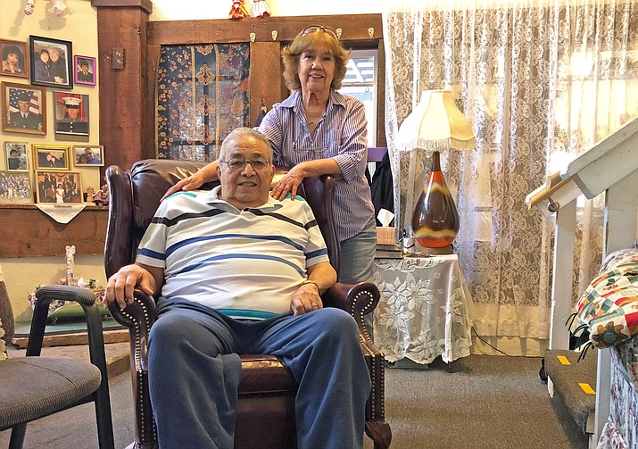 Tony and Mary Ellen Torrez will be honored for their service to Williams July 8. Tony spent many years cutting hair in Williams and ministering to the community. (Wendy Howell/WGCN)