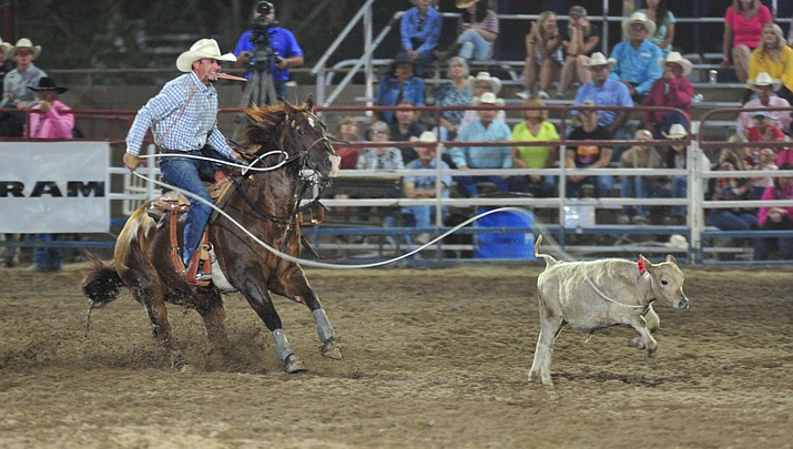 Roper Seth Hall claims all-around rodeo title