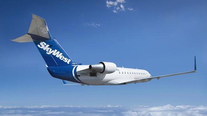 SkyWest, a subsidiary of United Airlines, is set to become the new carrier at Prescott Airport. (SkyWest Airlines/Courtesy)