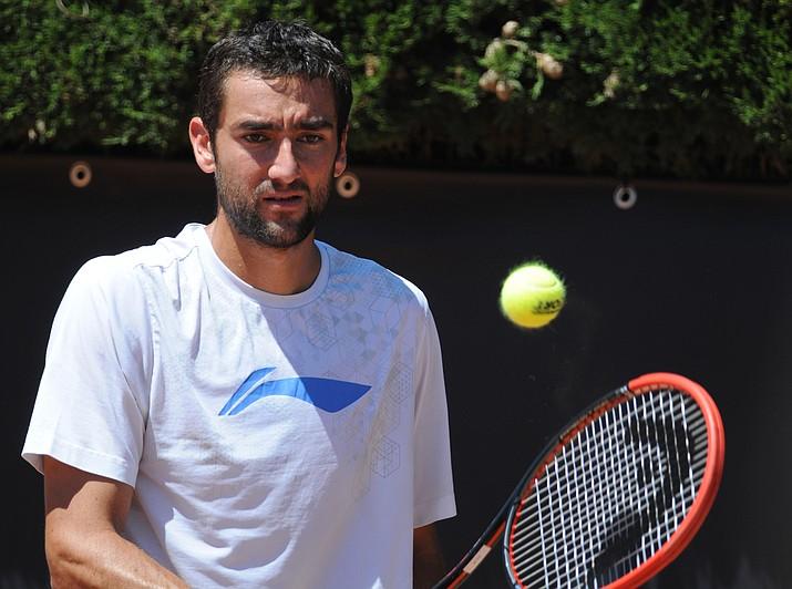 No. 3-seeded Marin Cilic was upset Thursday at Wimbledon. (Photo by Tatiana, cc-by-sa-2.0, https://bit.ly/2u41pKQ)