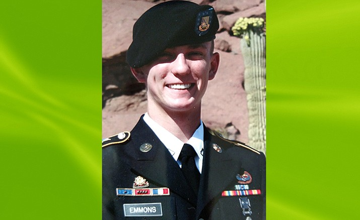 PFC Caden James Emmons.  Courtesy photo