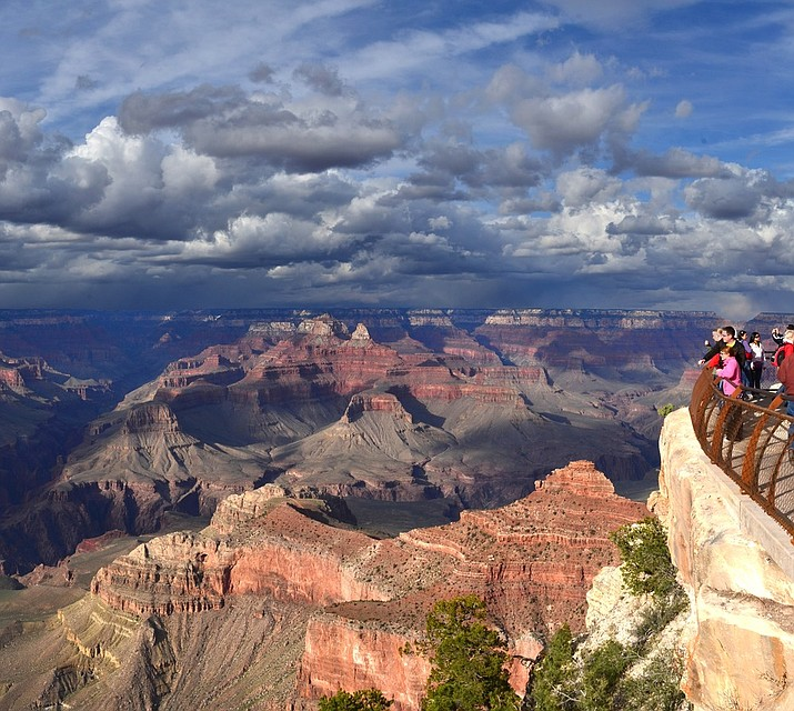 Mather Point if one of the most popular viewpoints at Grand Canyon National Park (Photo/NPS)