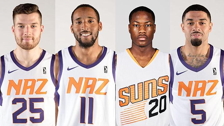 4 NAZ Suns playing in NBA Summer League