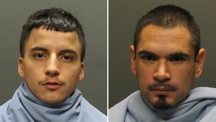 Hector J. Molina (left) and Ariel Montes-Deoca (Tucson Police Department)