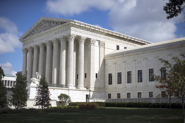 Pictured is the U.S. Supreme Court building in Washington, DC. (Carolyn Kaster. AP File photo)