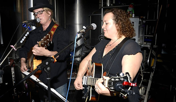 Sugar Moon is a multi-instrumentalist duo, whose rock, blues, folk, pop and retro covers get crowds dancing, singing and clapping for more.