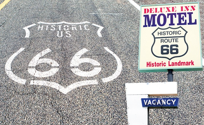 A bill in the U.S. Senate will boost tourist and funding for Historic Route 66. The Deluxe Inn Motel in Seligman could be one of those benefiting from the bill passing.