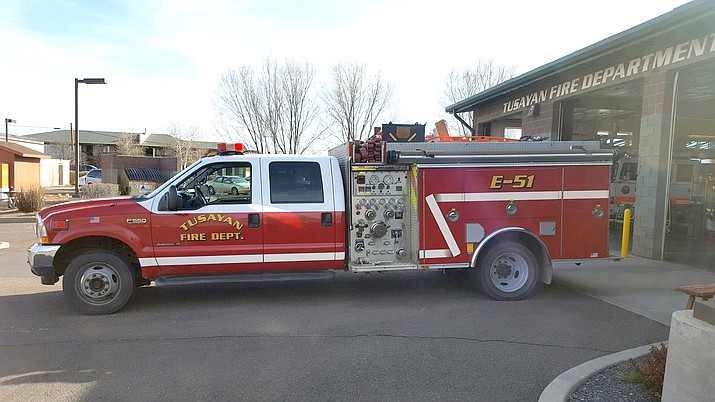 Engine 51, the department's first-out workhorse, is in need of serious repairs. The apparatus is 16 years old and will likely need replaced in the next few years. (Photo/TFD)
