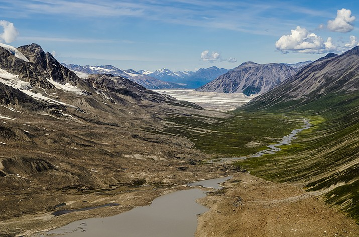 Wrangell-St. Elias National Park & Preserve near Copper Center, Alaska. (Photo/NPS)