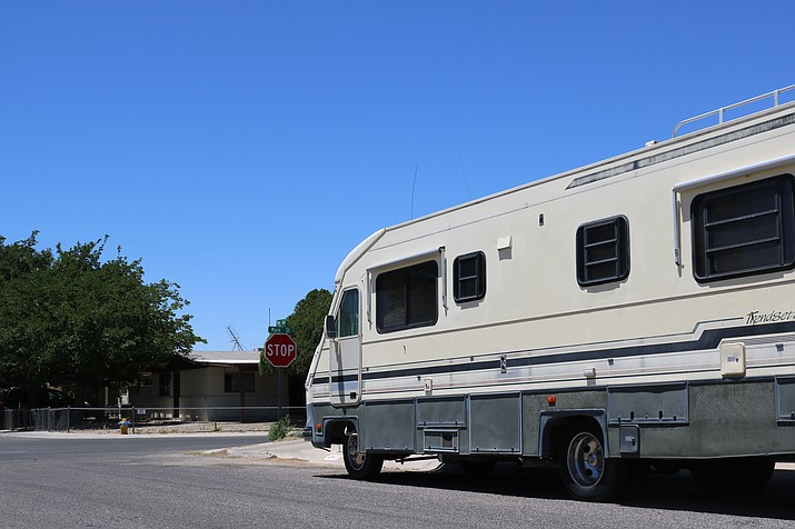 Kingman citizens who attended the Planning and Zoning Commission meeting Tuesday weren't thrilled about the prospect of the City considering banning on-street parking for large vehicles like RVs and boats. (Travis Rains/Daily Miner)