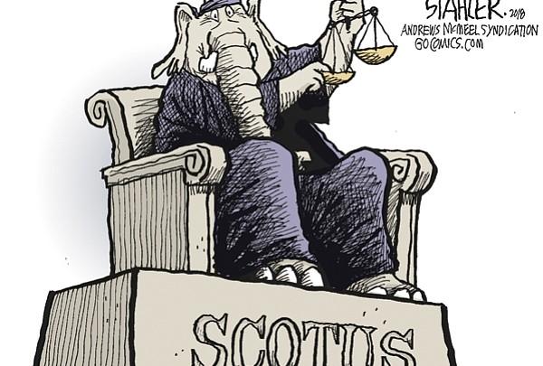 Editorial Cartoon: July 13, 2018
