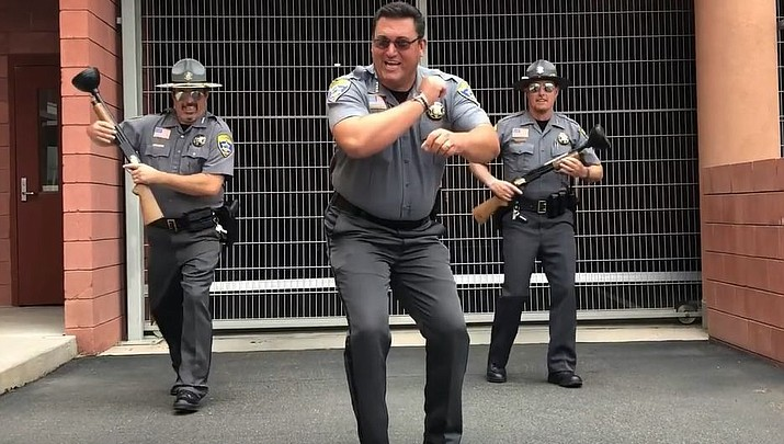 READ HIS LIPS: Sheriff Doug Schuster's lip sync video enjoys viral success