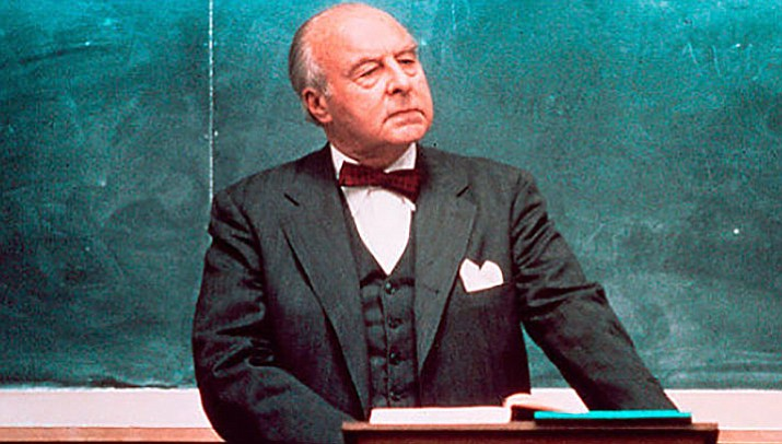"Academy Award-winning actor John Houseman was the serious professor in ""The Paper Chase"" (1973). (Courtesy)"