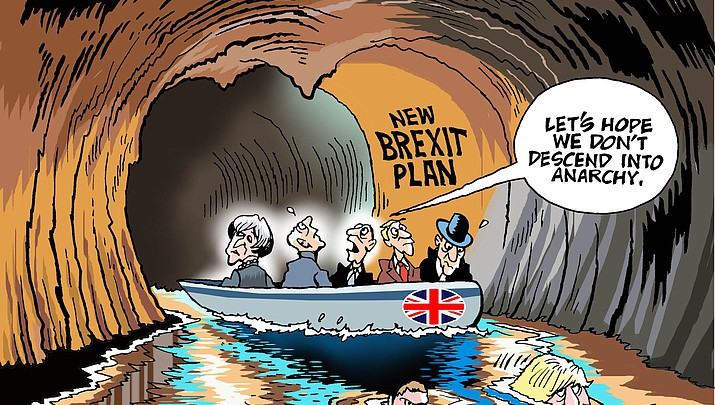 Editorial cartoon (1): July 16, 2018