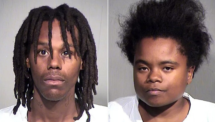 Tayran Slash and Sharonta Adams (Maricopa County Sheriff's Office)